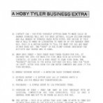 Hoby Tyler Business Forms – PDF