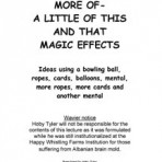 More Of A Little Of This Magic Effects – PDF