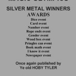Magic Olympics Silver Metal Winners – PDF