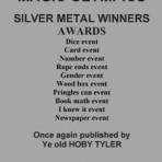 Magic Olympics Silver Metal Winners – PDF