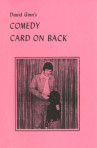 Comedy Card on Back – David Ginn